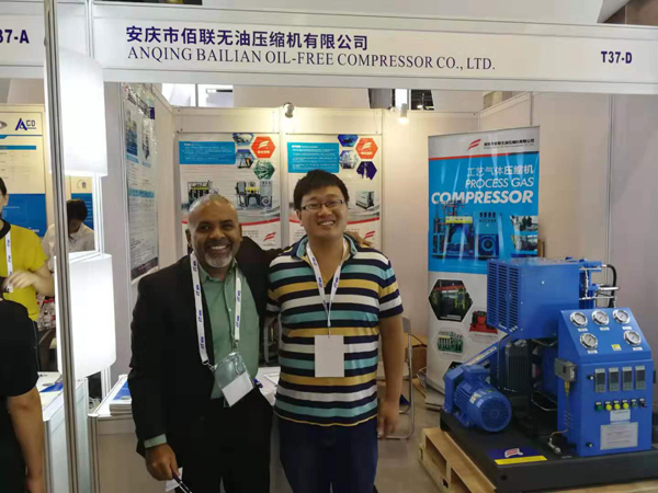 IG CHINA 2019 industri peralatan gas adil, Bailian booth (2)