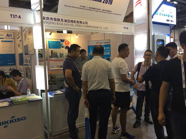 IG CHINA 2019 industri peralatan gas adil, Bailian booth (5)