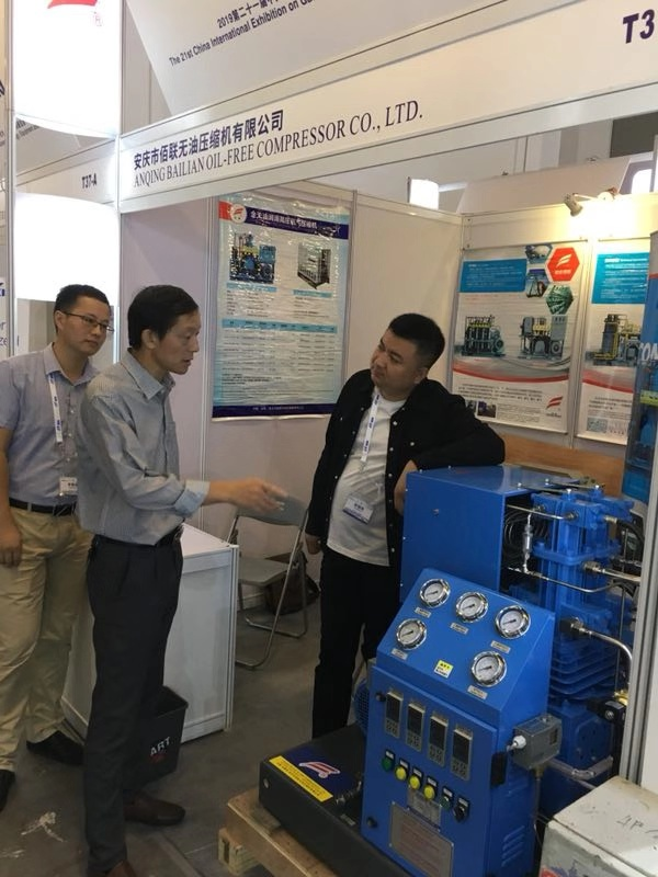 IG CHINA 2019 industri peralatan gas adil, Bailian booth (6)